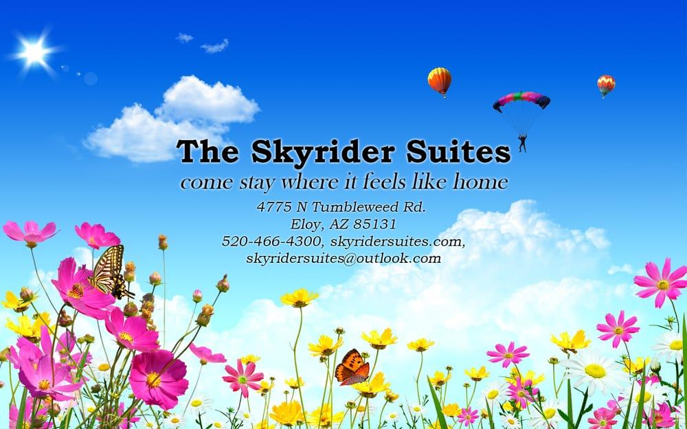 The Skyrider Suites: 4775 N Tumbleweed Rd, Eloy, AZ