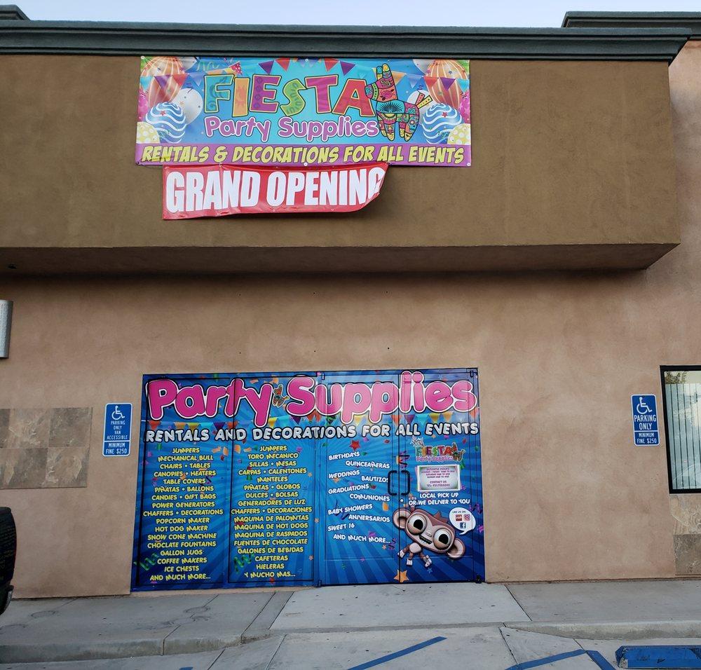 Fiesta Party Supplies: 3791 Opal St, Riverside, CA