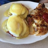 Photo Of Bath Beach Diner Brooklyn Ny United States Eggs Benedict