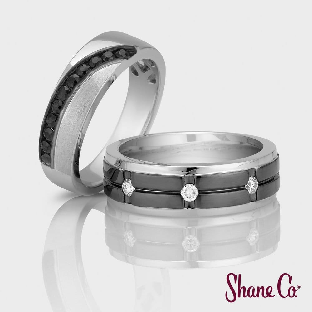 Shane Co Has A Great Selection Of Handsome Wedding Bands For Men Yelp