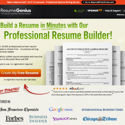 photo of resume genius wilmington de united states make a free resume