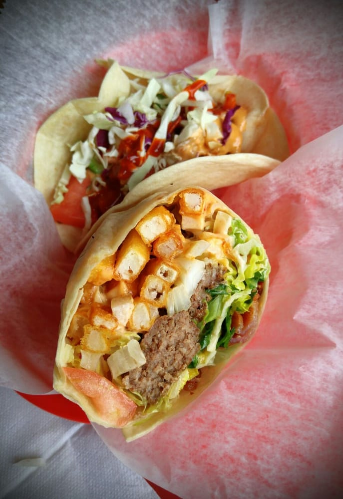 Food from Burgrito's