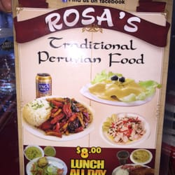 Photo Of Rosa S Traditional Peruvian Food Bakersfield Ca United States