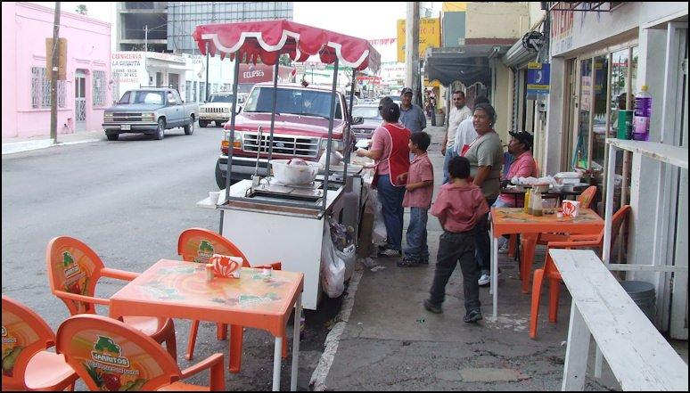 Gorditas Aracey: Av. E. Zapata 226, Ciudad Miguel Alemán, TAM
