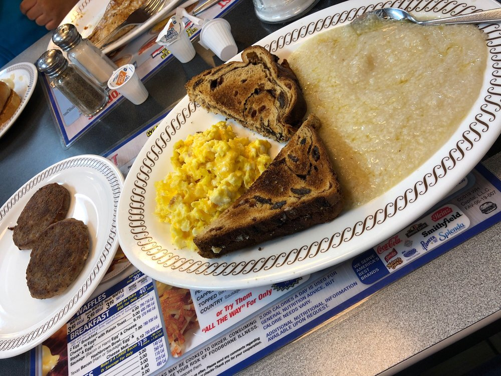 Food from Waffle House