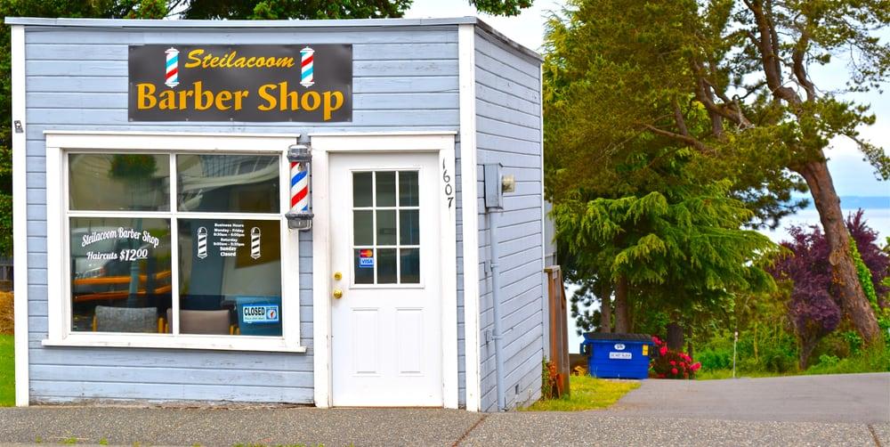 Steilacoom Barber Shop: 1607 Lafayette St, Steilacoom, WA