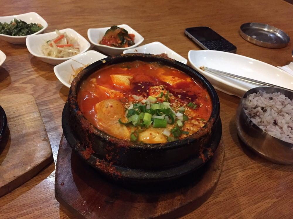 1 soon do bu soup yelp for Asiana korean cuisine restaurant racine