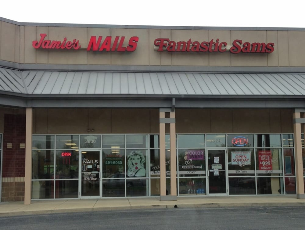Front of store yelp for Sams salon