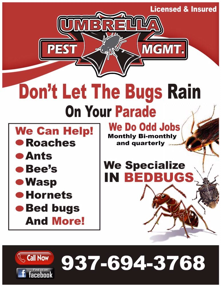 Umbrella Pest Management: Fairborn, OH