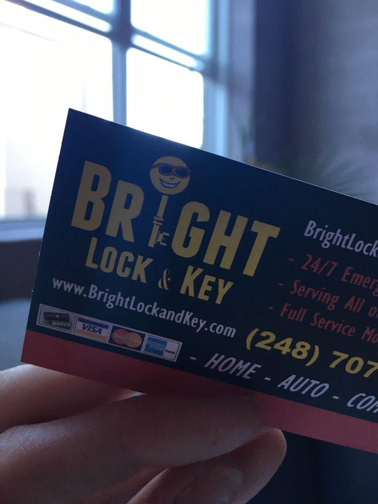 Bright Lock and Key