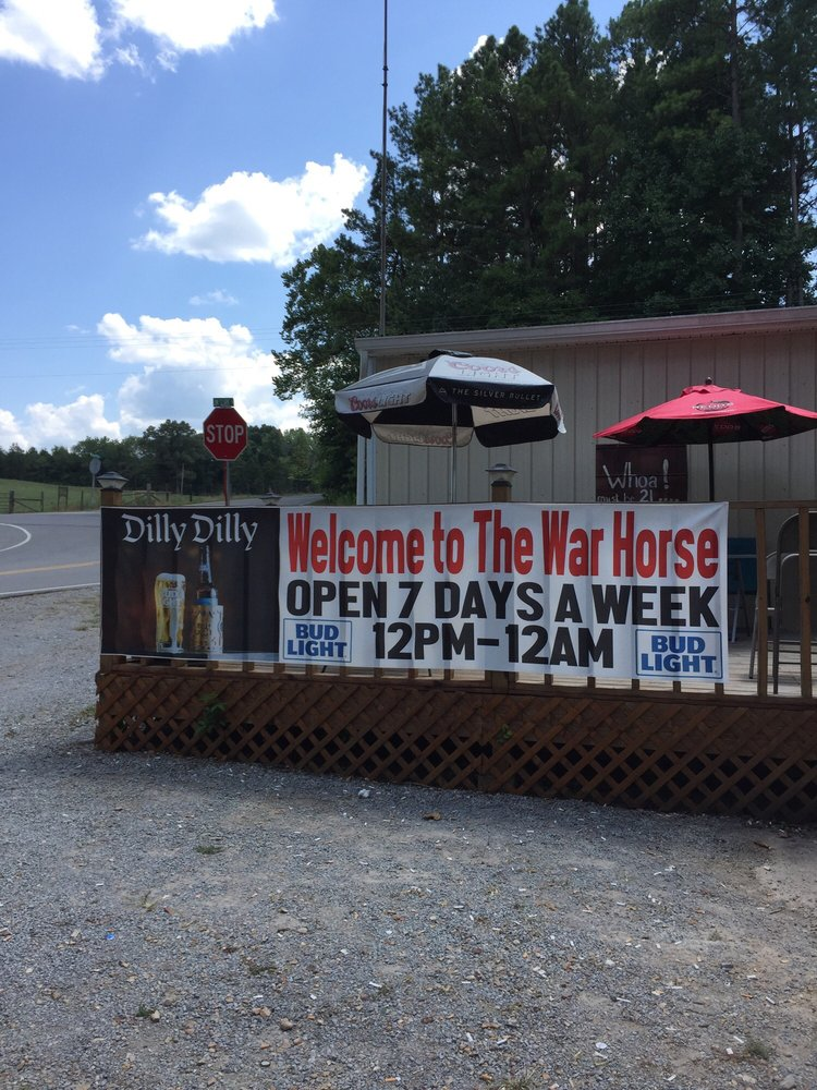The War Horse Saloon: 8743 Hwy 49, Erin, TN