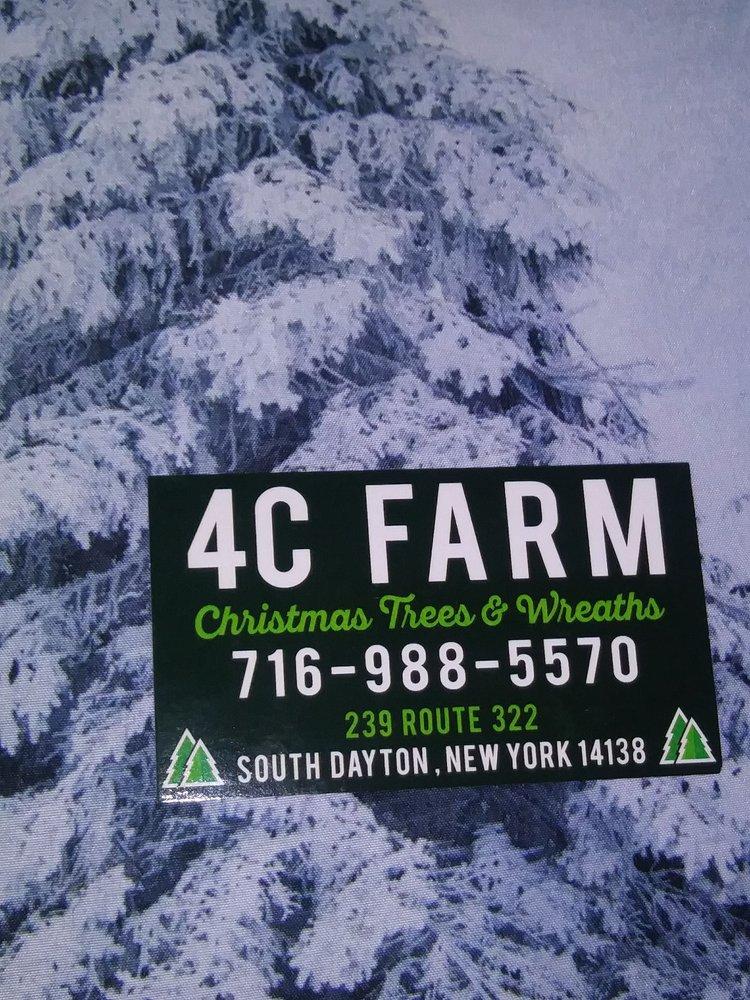 4C Tree Farm: 239 RT 322, South Dayton, NY