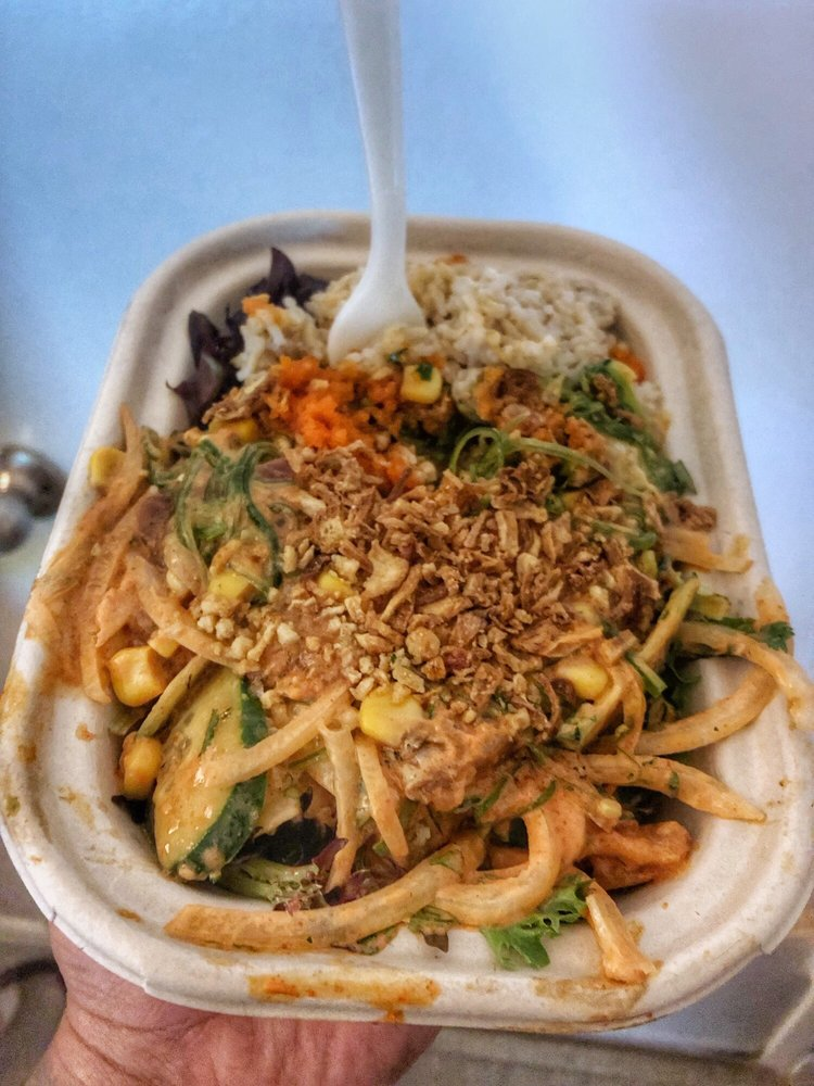Food from Poke Bar