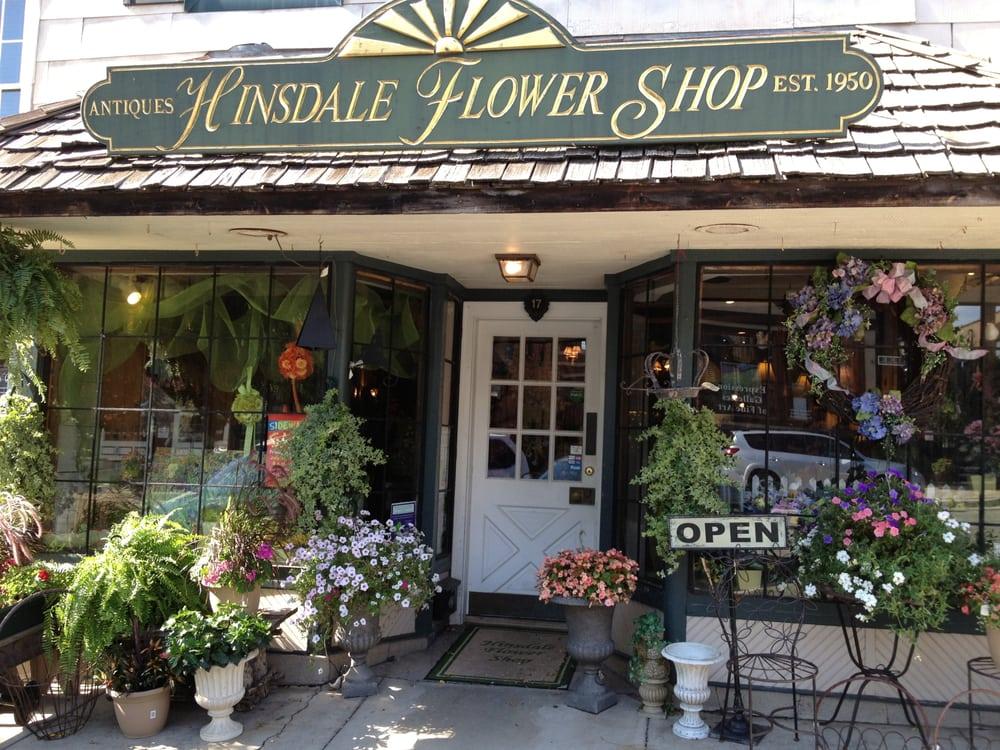 Hinsdale Flower Shop: 17 W 1st St, Hinsdale, IL