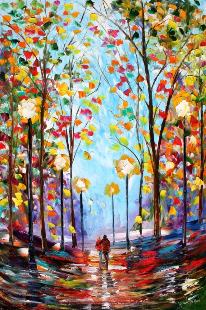 Uptown Art Calendar Denville Nj : Take a look at this great fall themed painting yelp