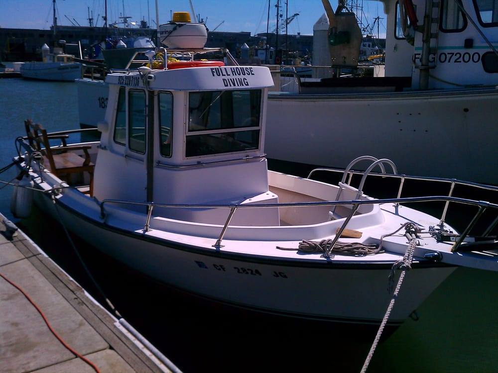 S f water taxi boat charters 1288 columbis ave for Charter fishing san francisco