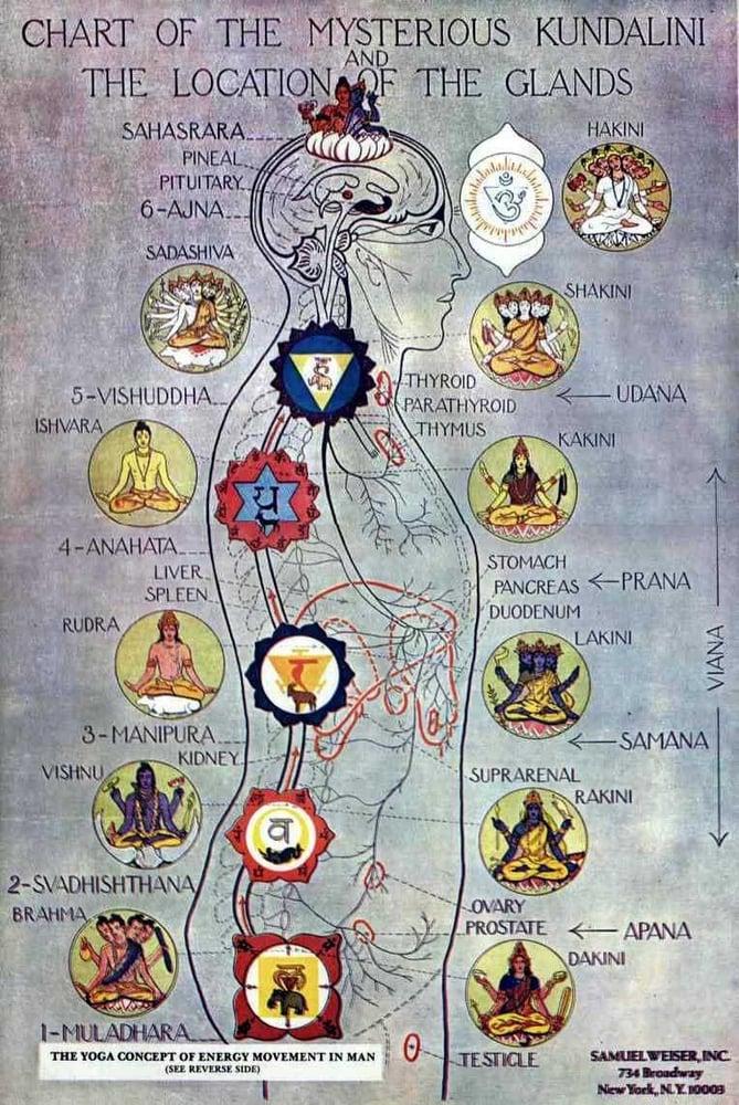 Chakras and presiding deities - Yelp