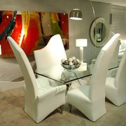 Superior Funky Egg Chairs With Photo Of Huff Furniture   Atlanta, GA, United States.  Unique White Dining Chairs ...