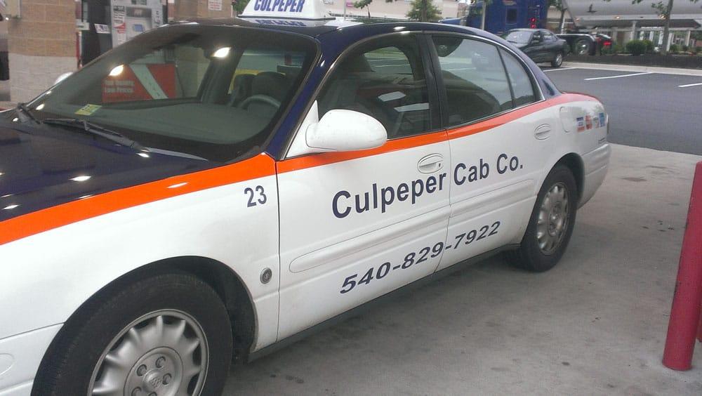 Culpeper Cab Company: 16492 Greens Corner Rd, Culpeper, VA