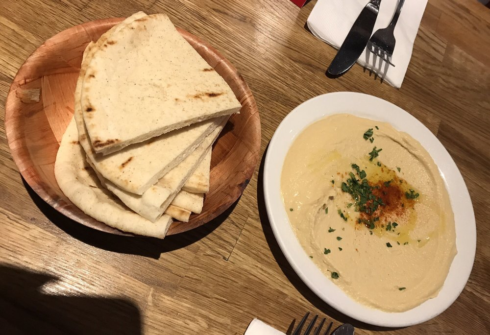 Side Of Classic Hummus, Some Of The Best I've Ever Had.
