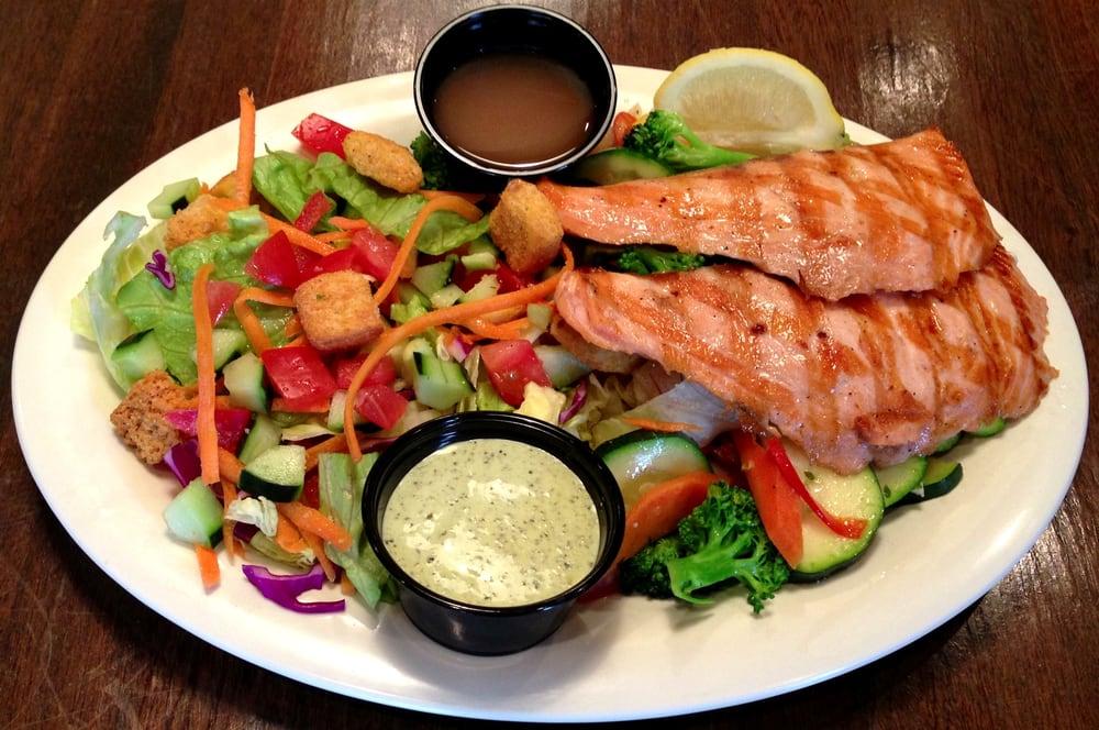 Fresh salmon salad yelp for Spikes fish house