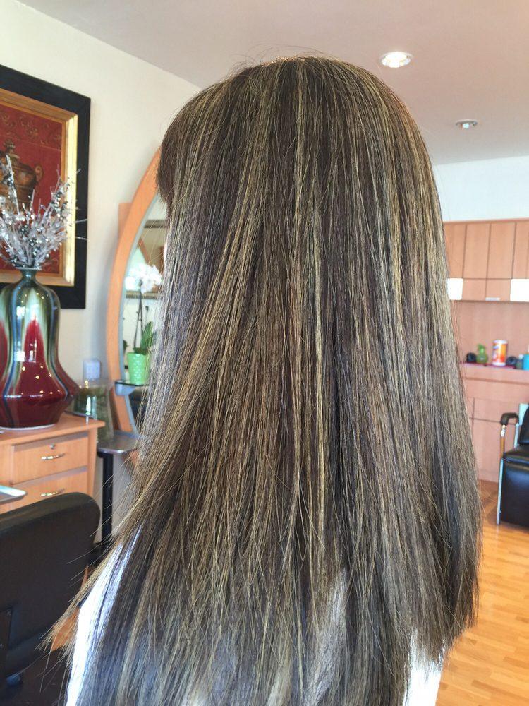 Dark Ash Blonde With Light Brown Lowlights Yelp