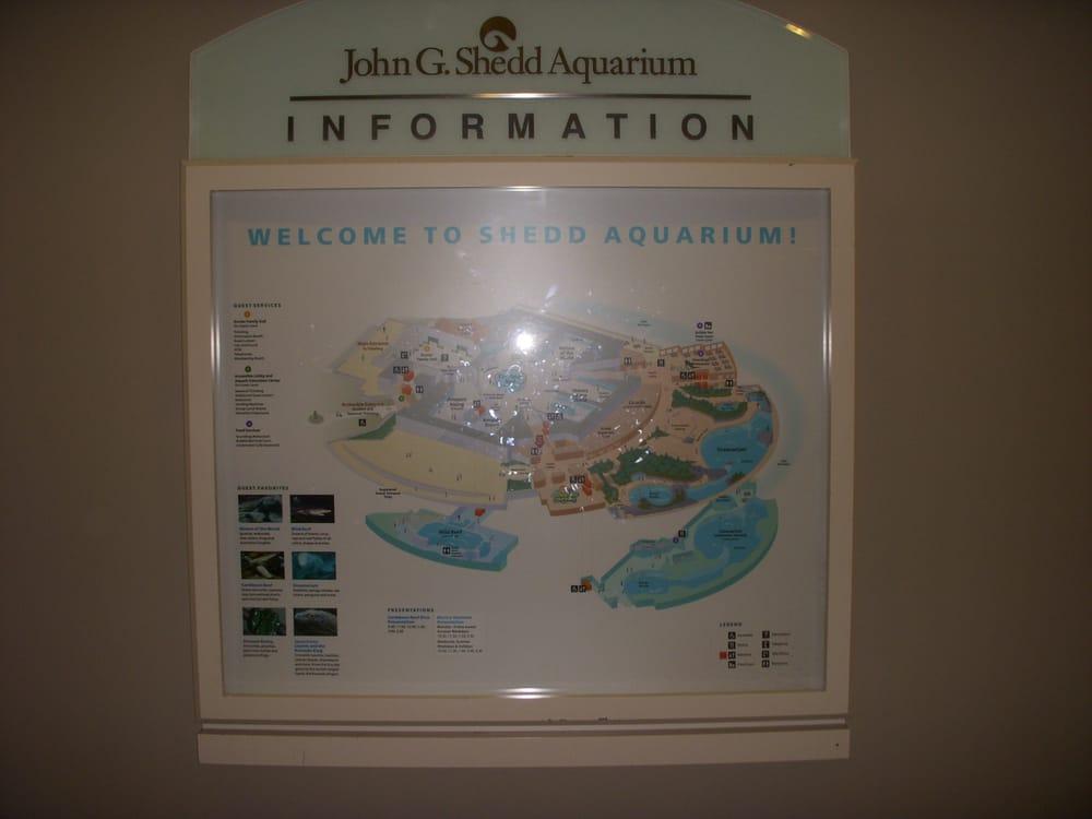 Map At The Aquarium 3 22 08 Yelp