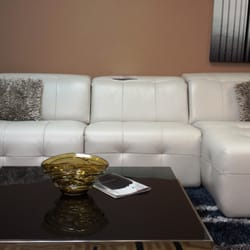 Photo Of Exceptional Furniture   Brooklyn, NY, United States. Full Leather  Sectional Sofa