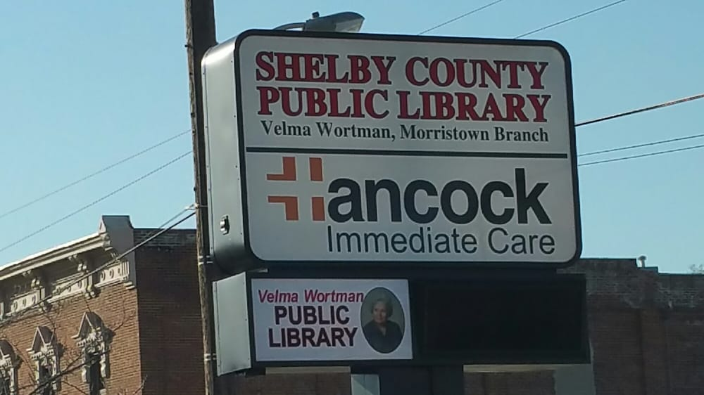 Velma Wortman Morristown Branch - Shelby County Public Library: 127 E Main St, Morristown, IN