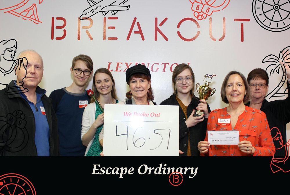 Breakout Games - Lexington: 309 N Ashland Ave, Lexington, KY