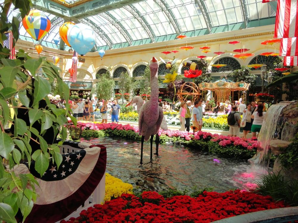 The Bellagio Conservatory Botanical Gardens Las Vegas Nv Yelp