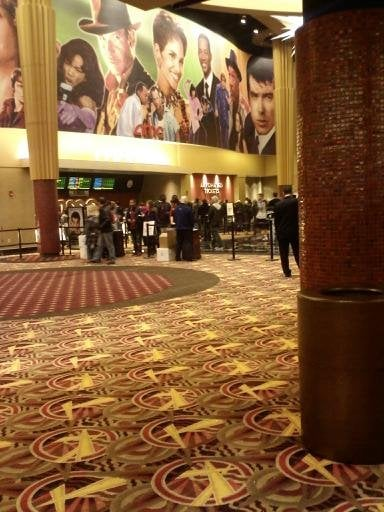 Inside Of The Amc Theater At The Garden State Plaza Paramus Nj Yelp