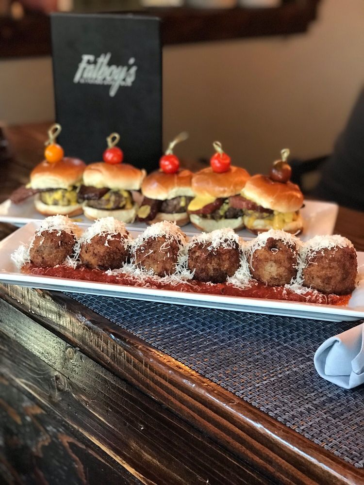 Food from Fatboy's Kitchen and Bar