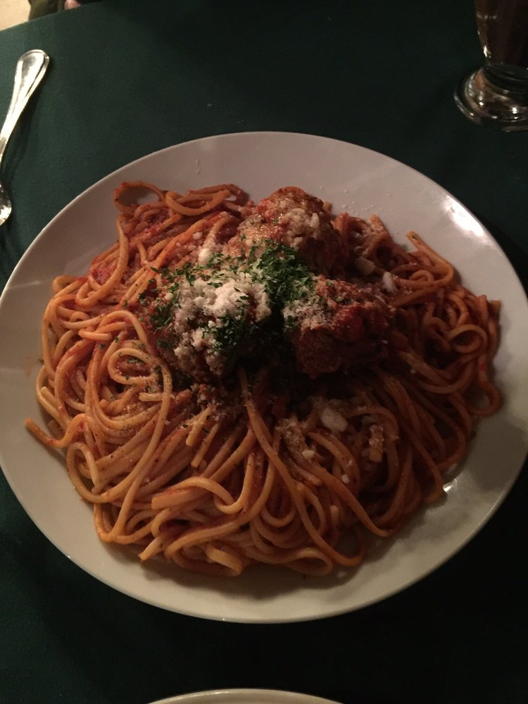 Spaghetti meat balls yelp for Authentic italian cuisine