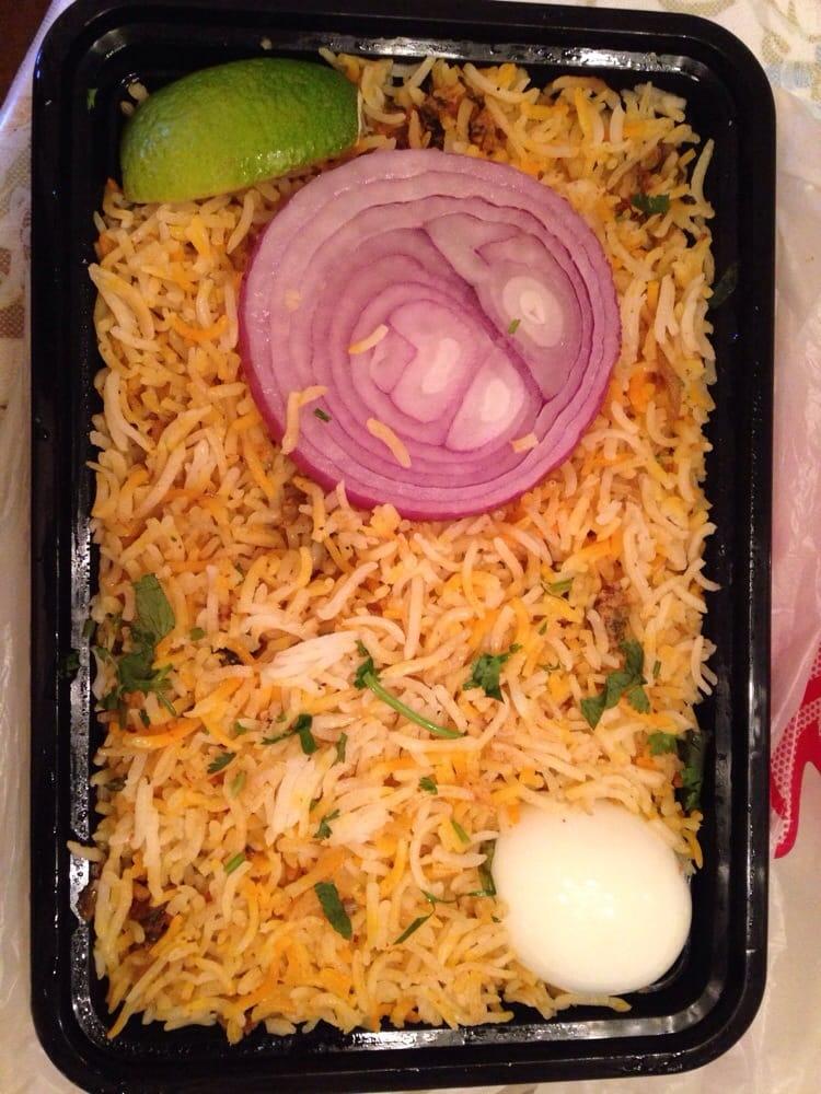 Hydrabadi chicken biryani togo box yelp for 8 elements perfect indian cuisine