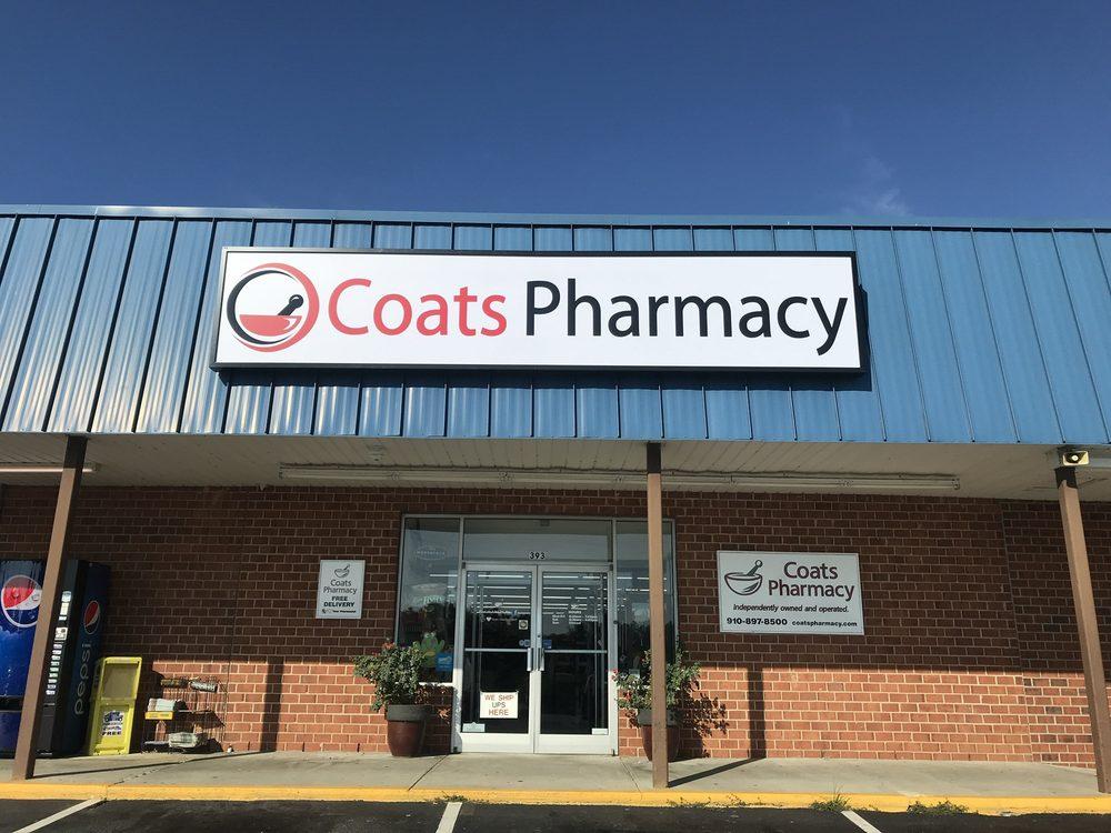 Coats Pharmacy: 393 N McKinley St, Coats, NC