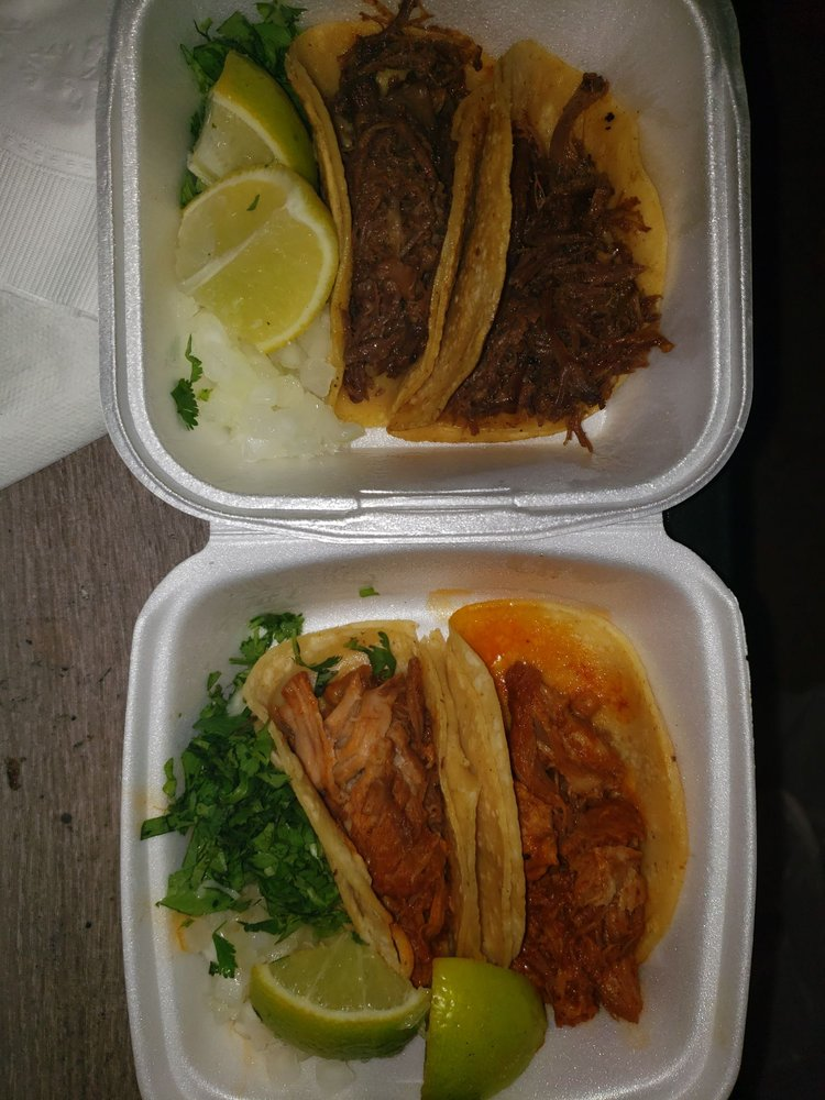 Food from L.A. TACOS