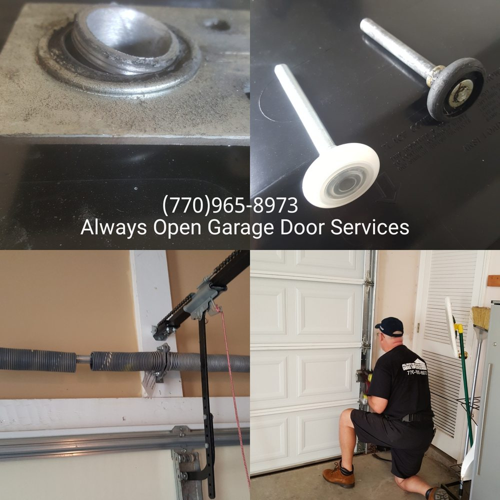 Always Open Garage Door Services: 4970 Peach Mountain Dr, Gainesville, GA