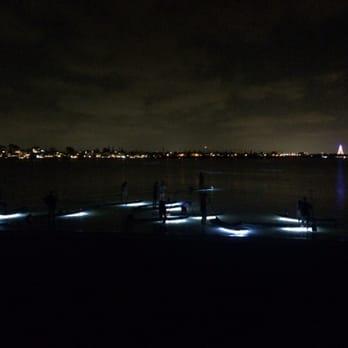 Photo Of Sail Bay San Go Ca United States Night Paddle Boarding