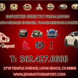 JDM Motor Import - Auto Parts & Supplies - 2710 Temple Ave, Long