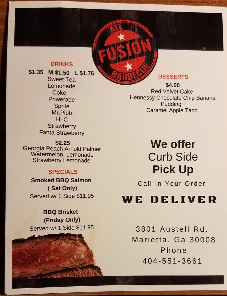 Atl Fusion BBQ - Order Food Online - 94 Photos & 43 Reviews