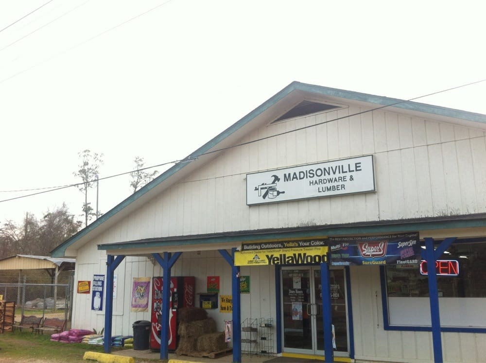 Pennington Hardware & Screenprinting: 407 Hwy 22, Madisonville, LA