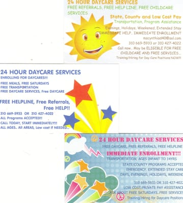 24 Hour Daycare Services Referrals And Help Line