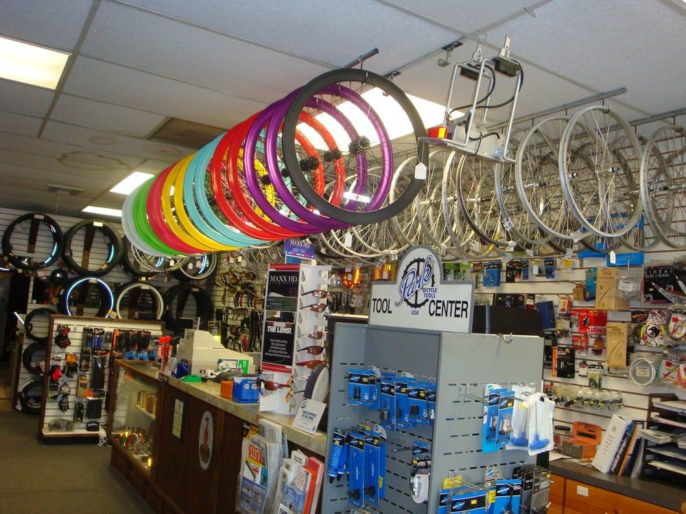Jim's Bicycle Shop: 5018 66th St N, Saint Petersburg, FL