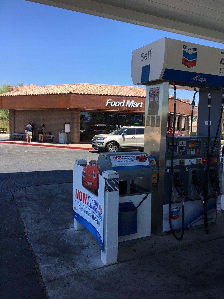 Ajo Chevron and Food Mart: 2001 N Ajo Gila Bend Hwy, Ajo, AZ