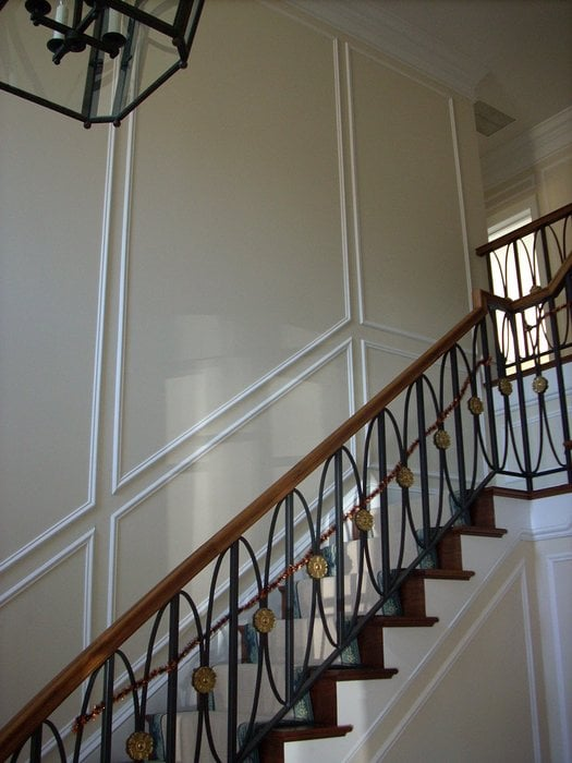 Wall Frames Following The Staircase Yelp