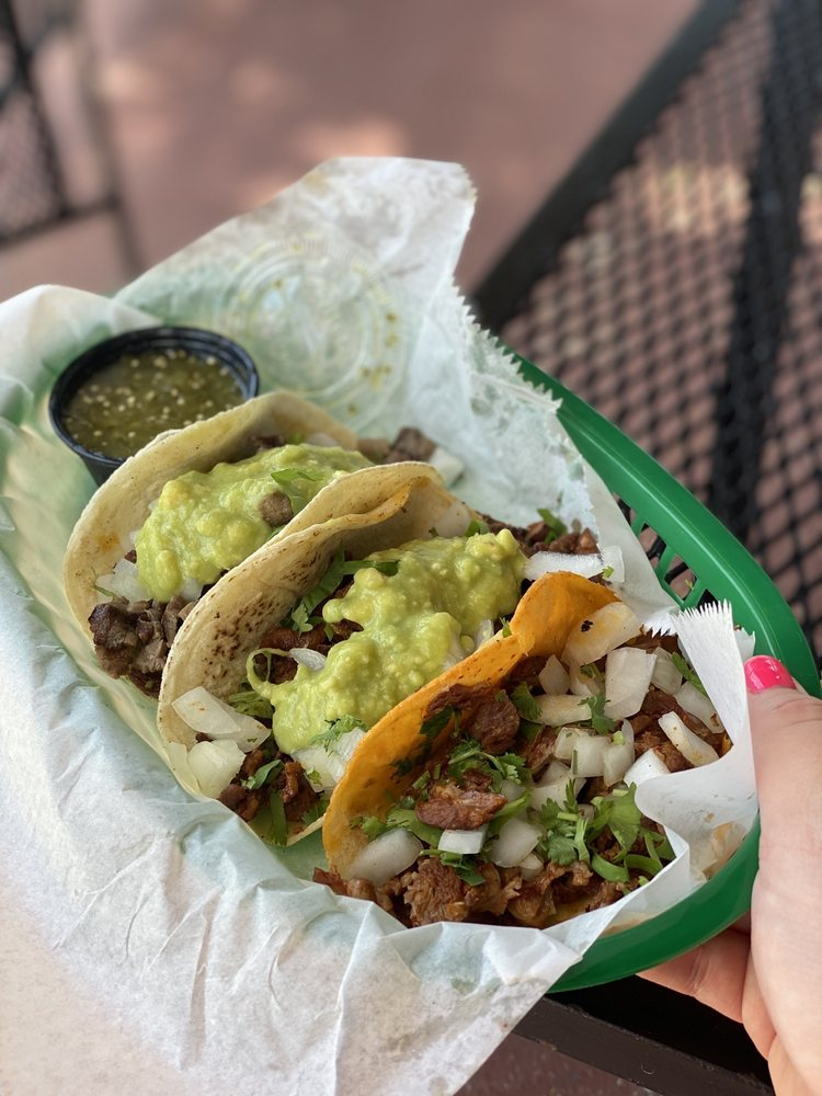 Food from Jimmy's Tacos