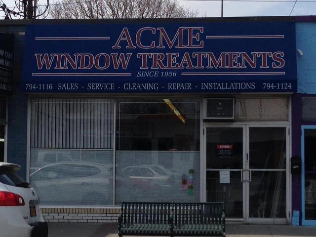 Acme Window Treatments Inc: 382 E Meadow Ave, East Meadow, NY