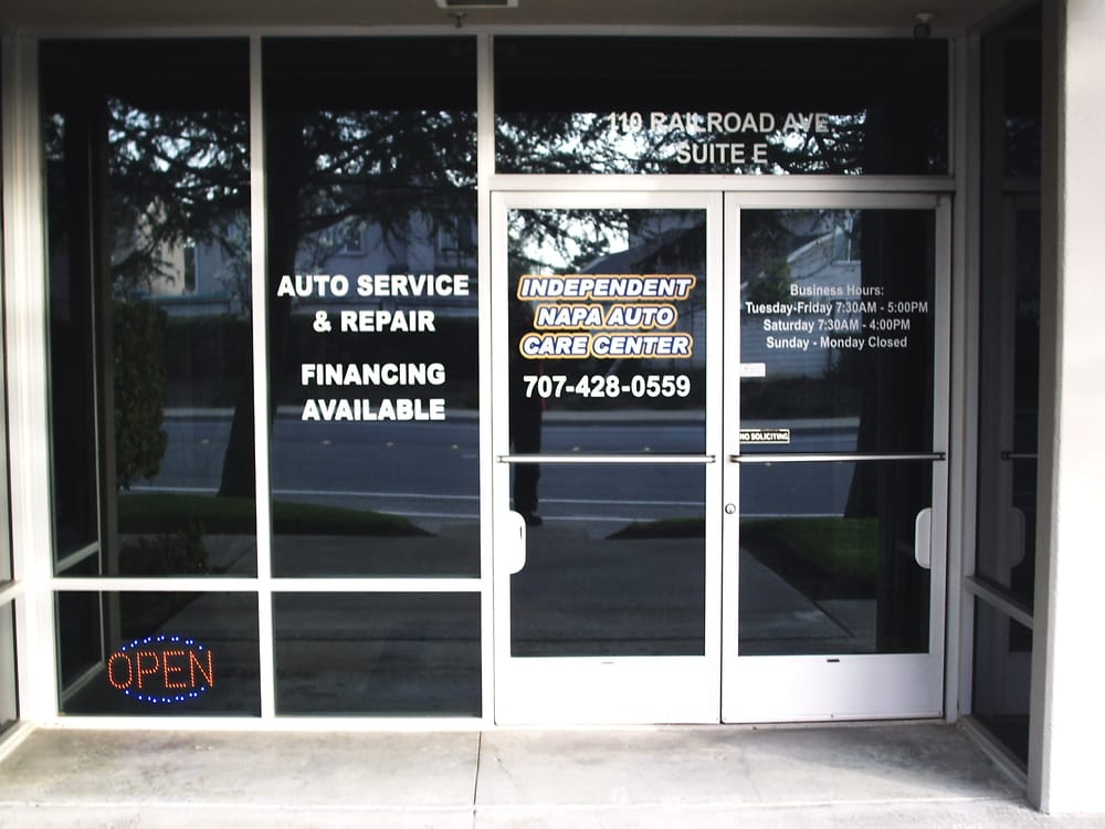 Independent Auto Care Center: 110 Railroad Ave, Suisun City, CA