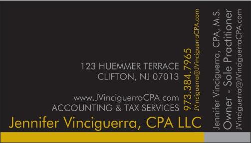 Jennifer Vinciguerra, CPA: 615 Valley Rd, Montclair, NJ